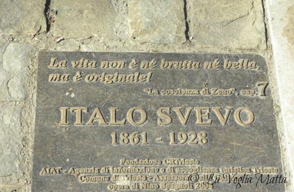 Trieste targa Italo Svevo
