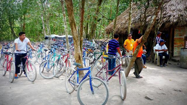 Rentar Bicicletas en la zona arqueológica de Coba