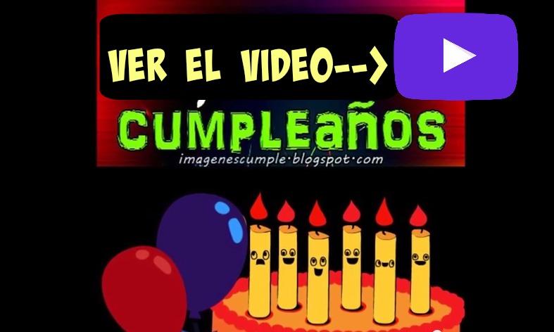 Video con tarjeta de cumpleaños y bellas frases de cumple para felicitar amigos, hijos,  saludos de cumpleaños, imágenes en video