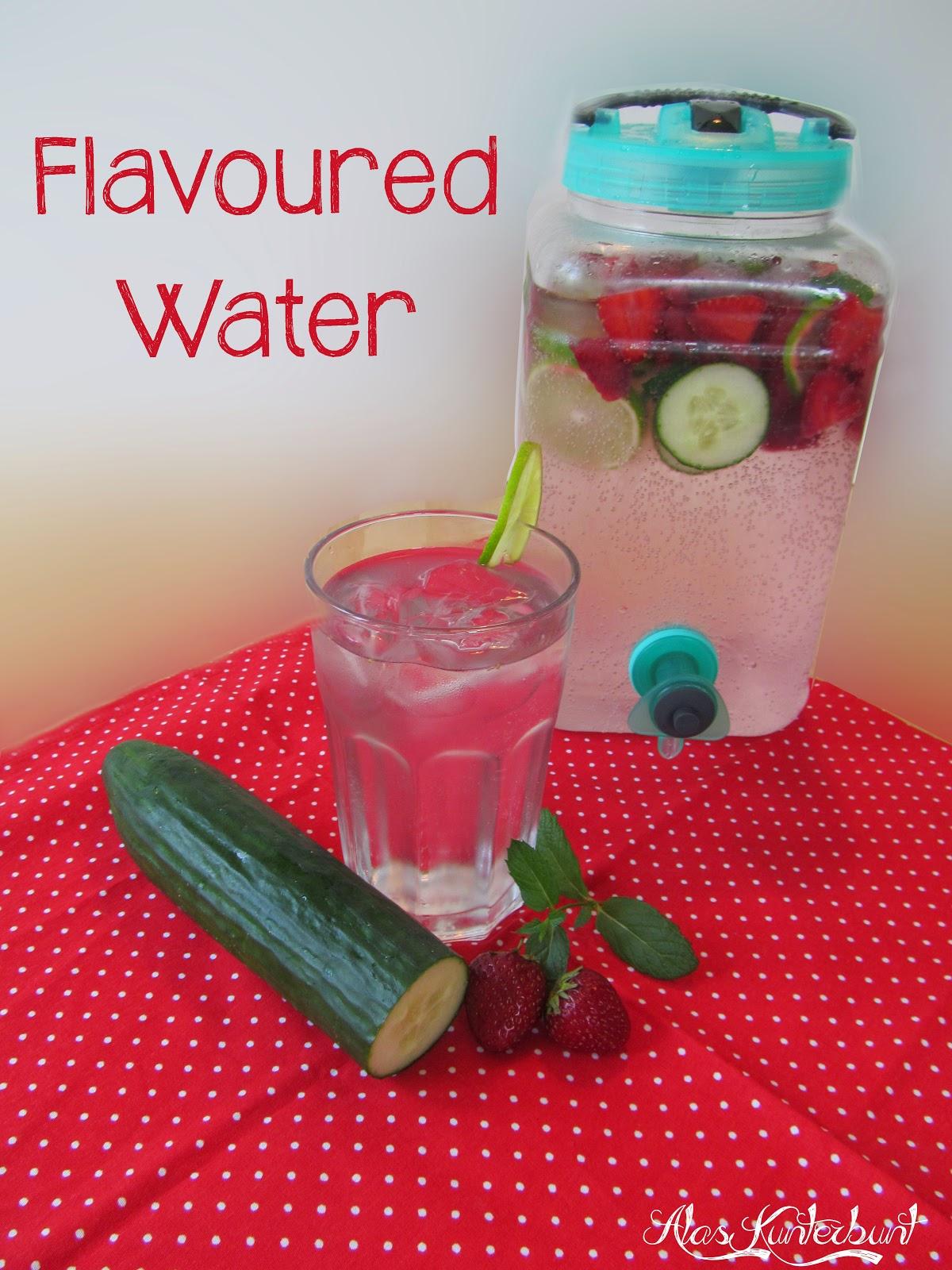 Flavoured Water / Wasser mit Geschmack | Ala's Kunterbunt