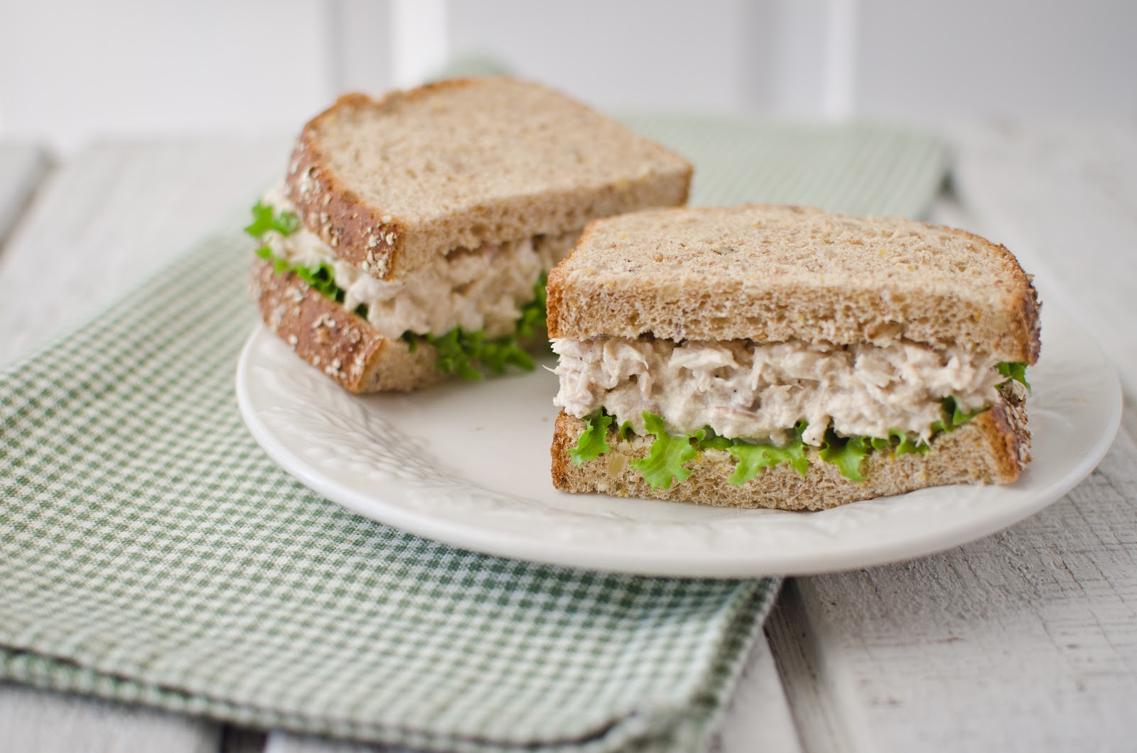 ... and watching them share this tuna salad sandwich for lunch priceless