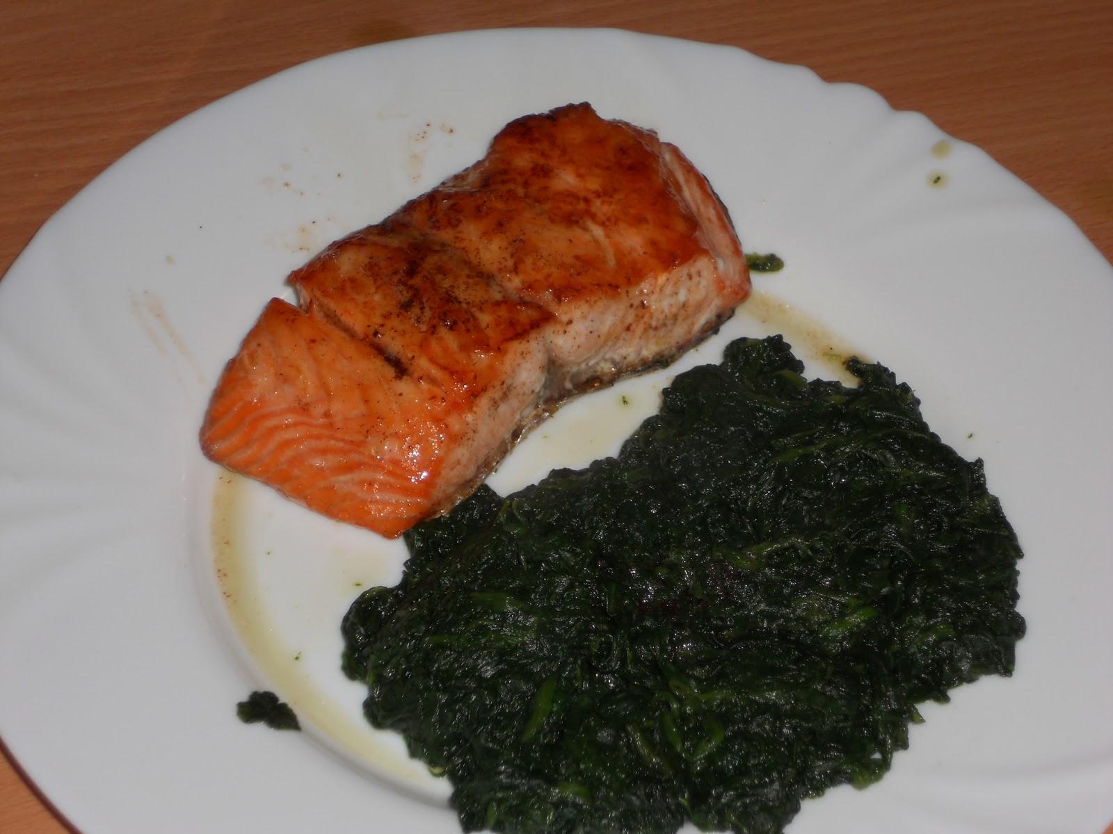 Ma cuisine tudiante saumon pinards - Blog cuisine etudiante ...