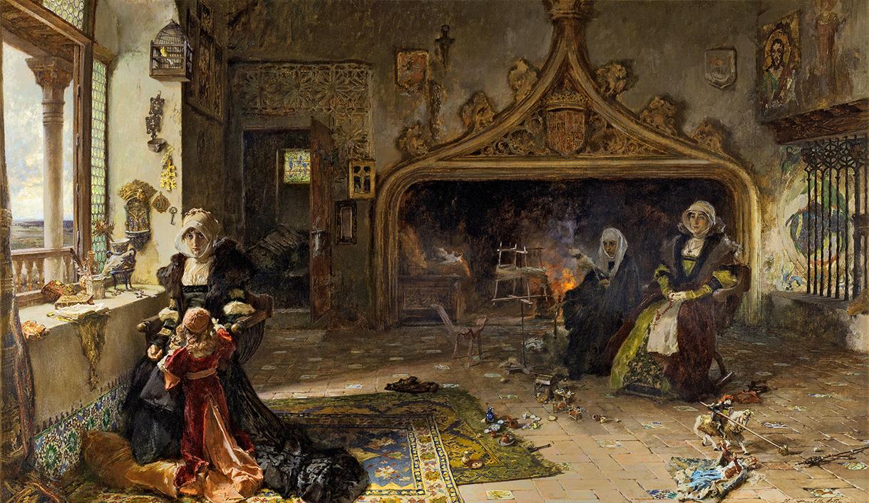 Carlos I de España y V de Alemania, emperador de dos mundos. Juana+La+Loca