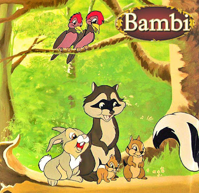 Disney animals bimba cartoon