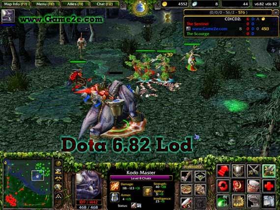 Dota Lod 2012 W3x