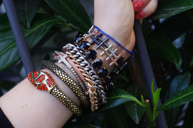 H&M,beste deutsche Modeblogger, german fashion blogger, hamburg, jewelry, schmuck, accessories, Armand,  bracelets, snake, triangle, Kreuz, hipster, cross, bijou brigitte,