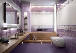 Ba os color violeta colores en casa for Azulejos bano morado