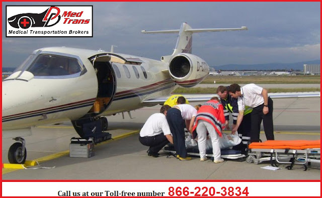 Medical Transport from State to State in Arizona, USA