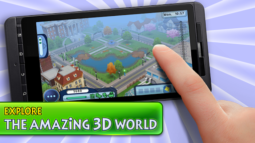 Description of The Sims FreePlay