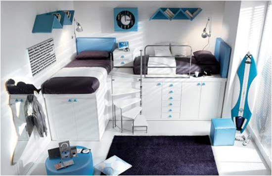 Key interiors by shinay cool modern teen girl bedrooms - Cool teenage room ideas ...