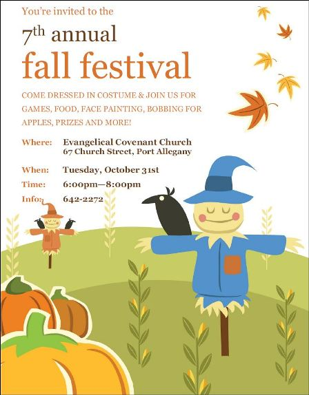 10-31 7th Annual Fall Festival