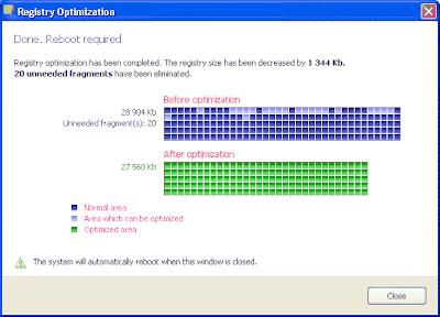 software mengoptimalkan registry