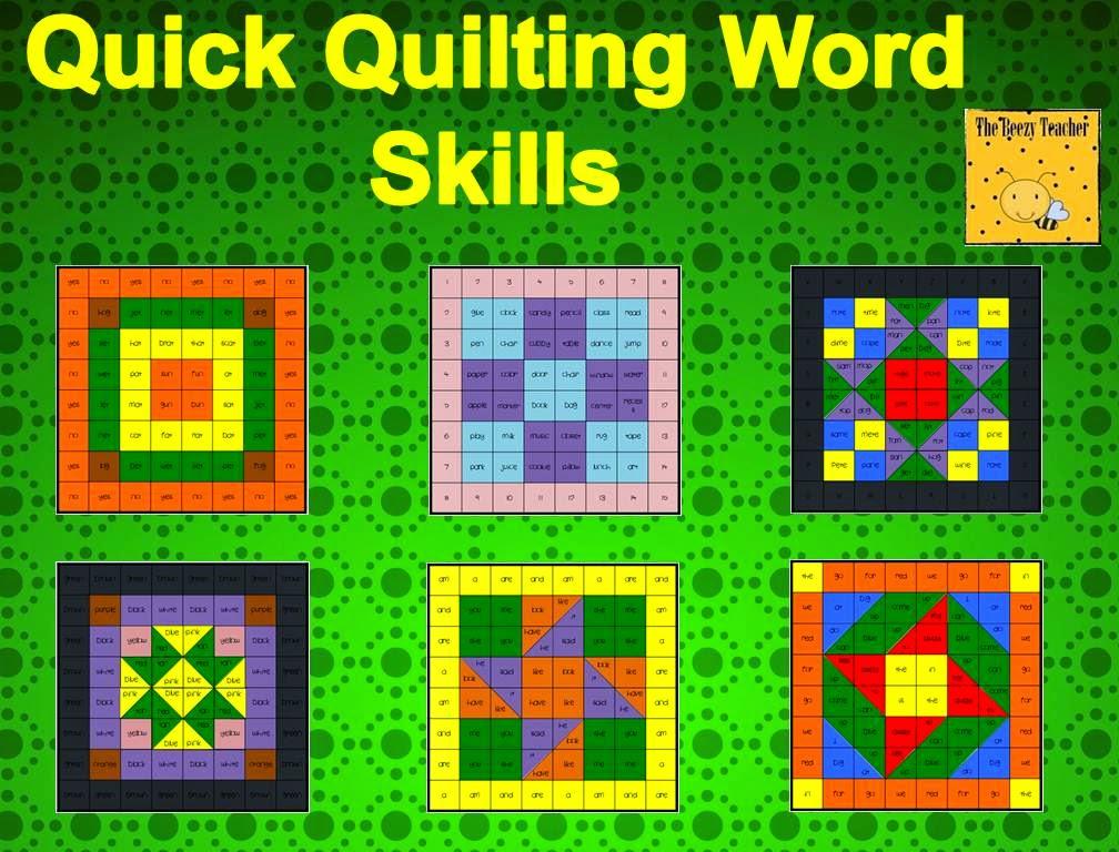 https://www.teacherspayteachers.com/Product/Quick-Quilting-Word-Skills-590543