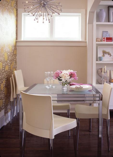 A arte de decorar sala de jantar - Mesas pequenas ...