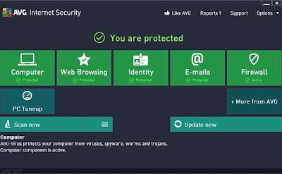 AVG 2013 antivirus online