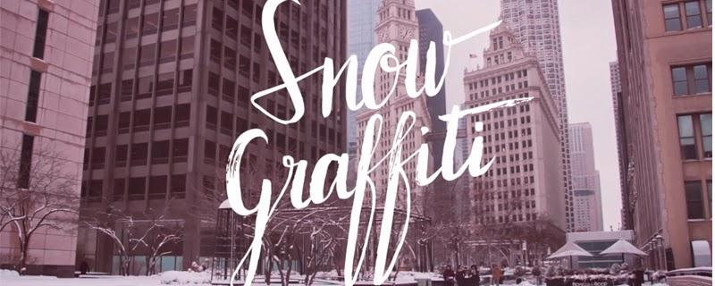 Graffitis de nieve