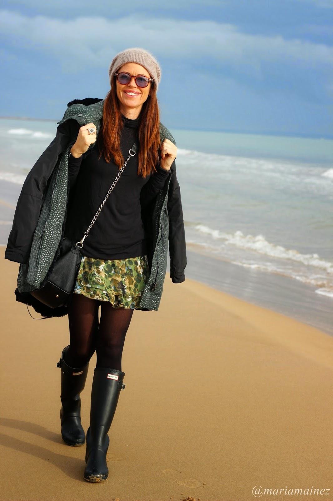 Streetstyle 2014- Fashion blogger - playa guardamar- Looks invierno