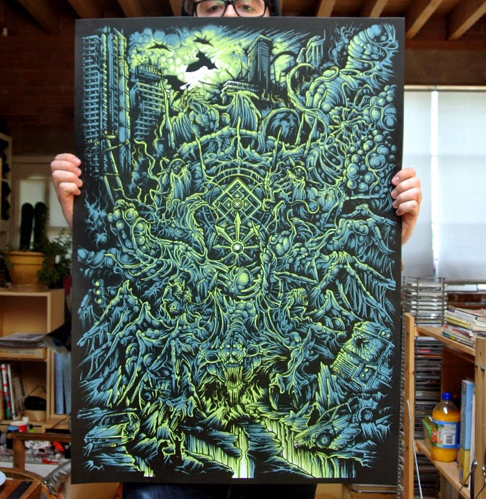 Dan Mumford Illustrations