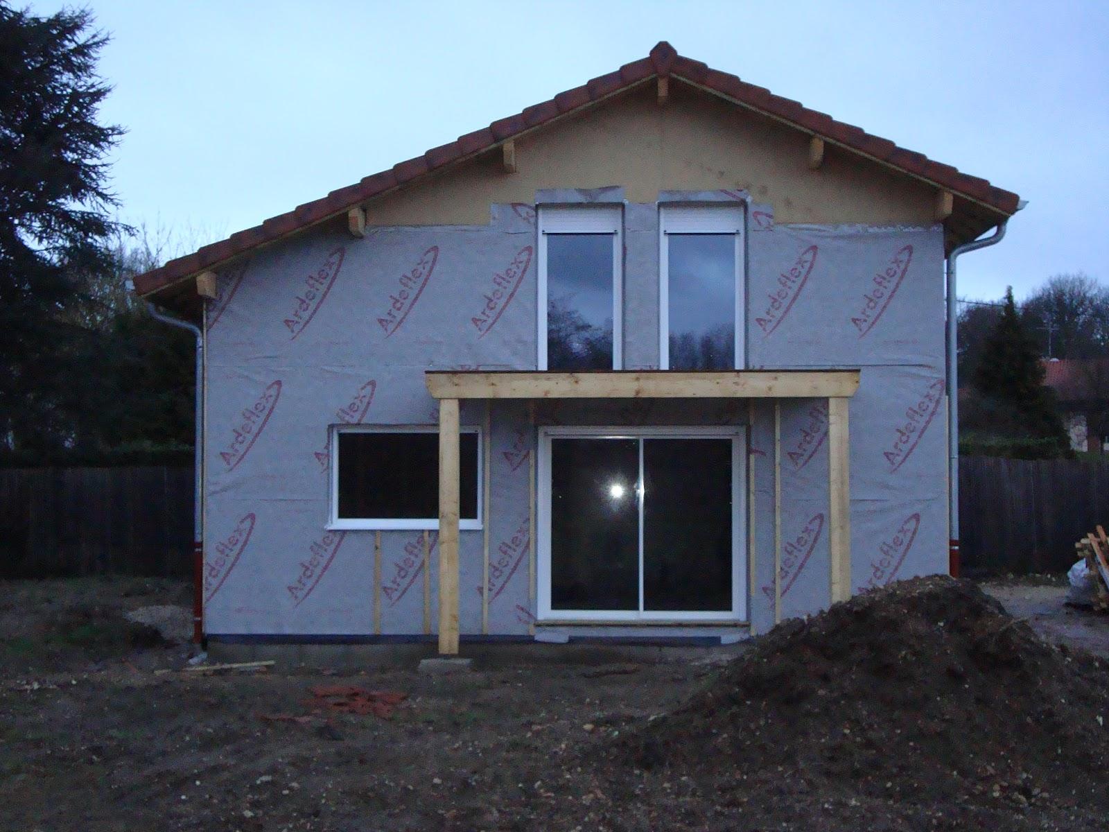 A2b realise ma maison bois dans l 39 ain f vrier 2013 - Du bois dans ma maison ...