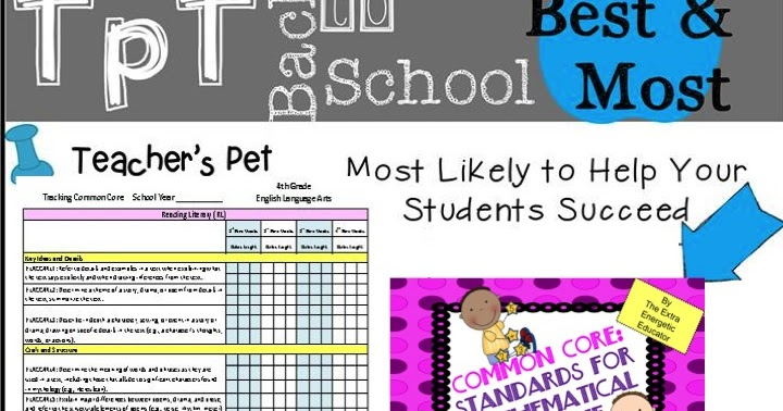 The Extra Energetic Educator: Back To School {Sale} With TpT!