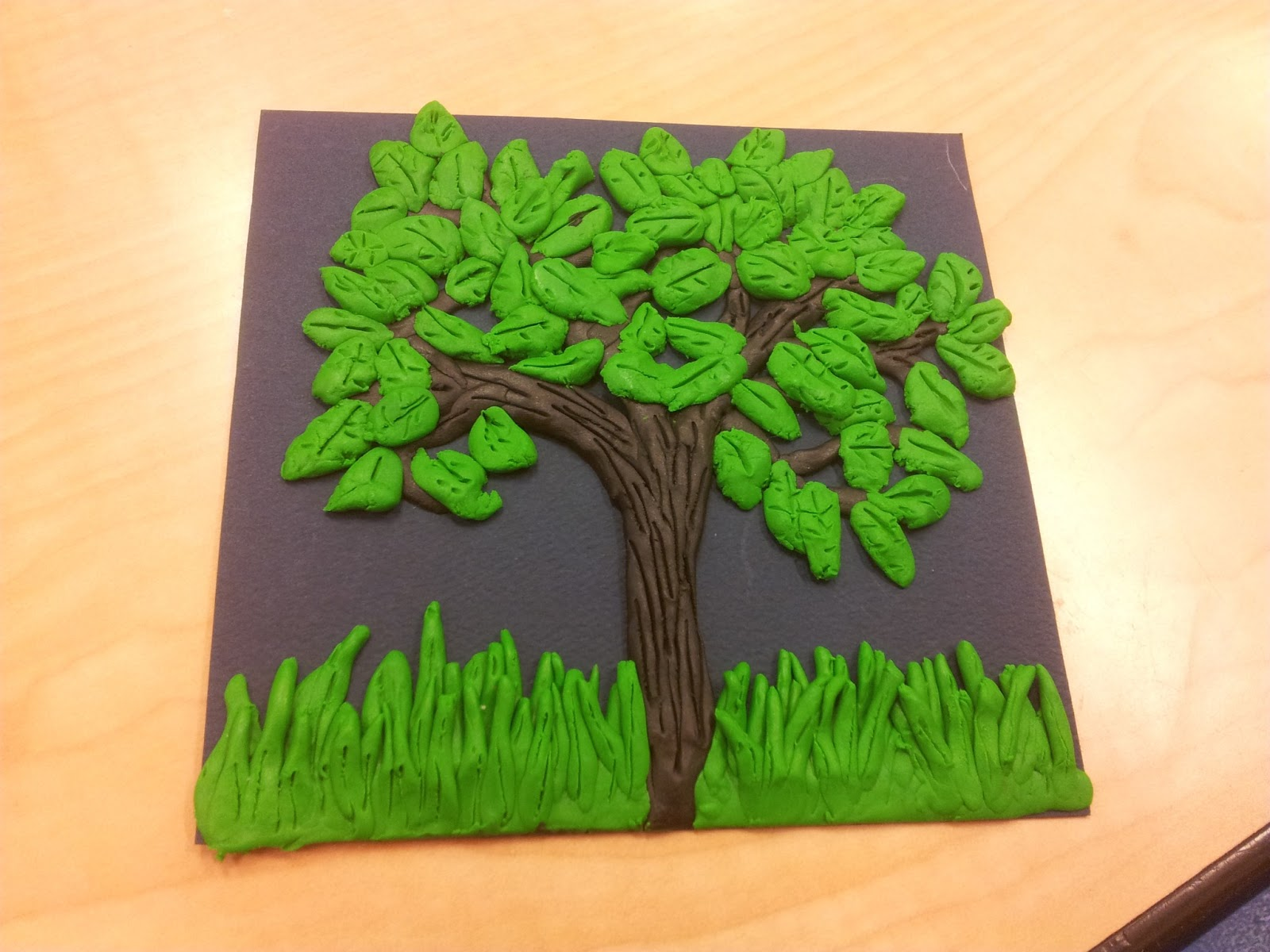 How to make a tree of plasticine with your own hands 30