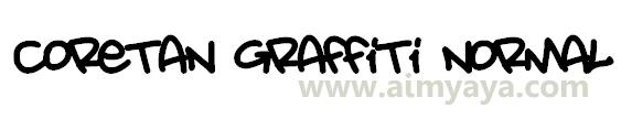 Gambar: Contoh ketikan/tulisan graffiti di dokumen microsoft word
