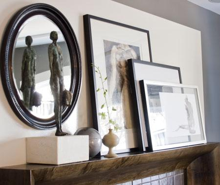 Fun finds interior design how to decorate a mantel for Casa mantel
