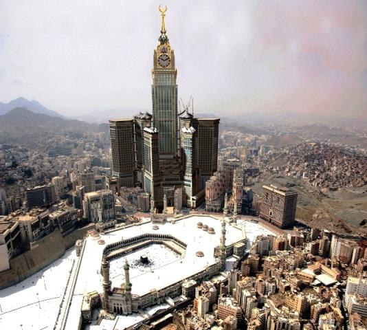 makkah clock tower wallpapers hd