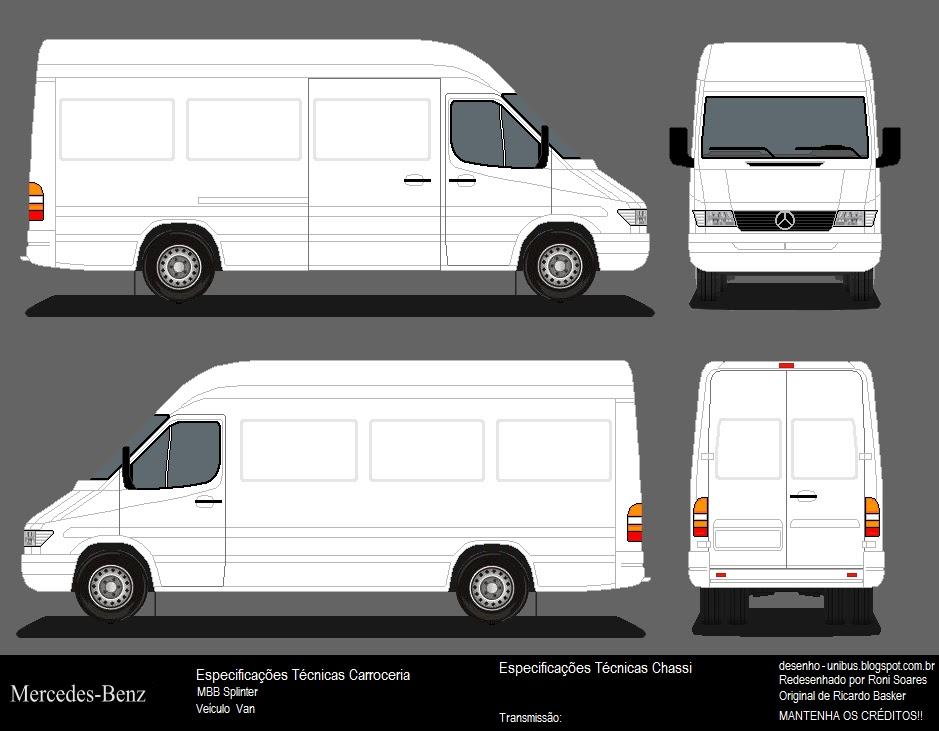 Unibus Desenhos Vans