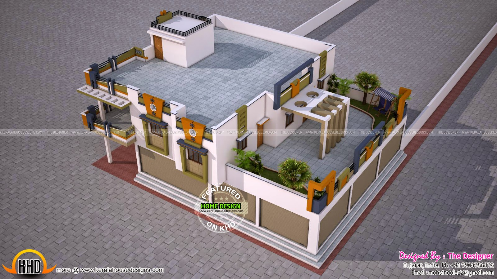 House with shop plans kerala home design and floor plans for Shop plans and designs