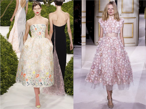 Christian Dior and Giambattista Valli