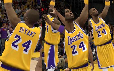 Nba 2k12 los angeles lakers jersey patch support