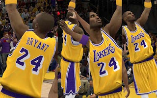 NBA2K12 Los Angeles Lakers And Retro Jersey V.2 with Crowd Fixed
