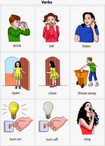 listado de verbos irregulares en ingles: