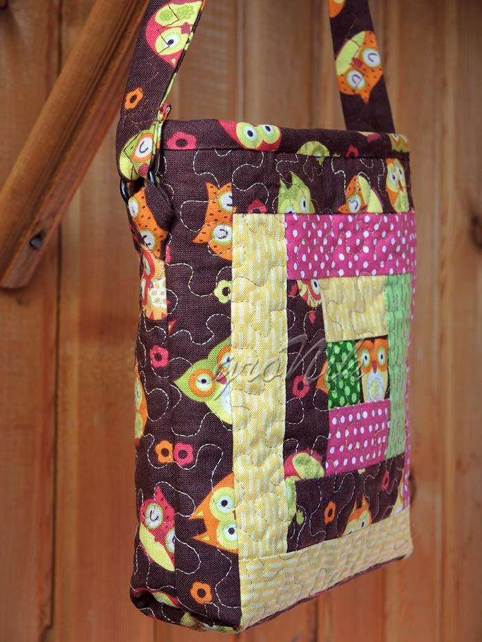 печворк-сумка детская