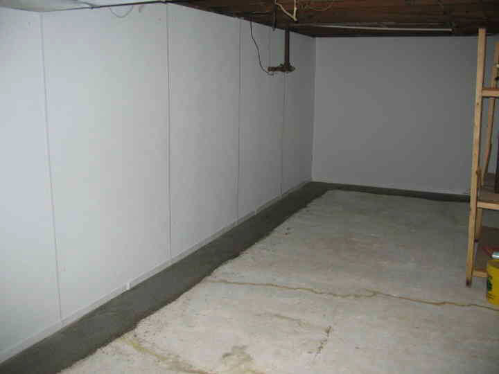 modern interior design basement wall panels with insulation