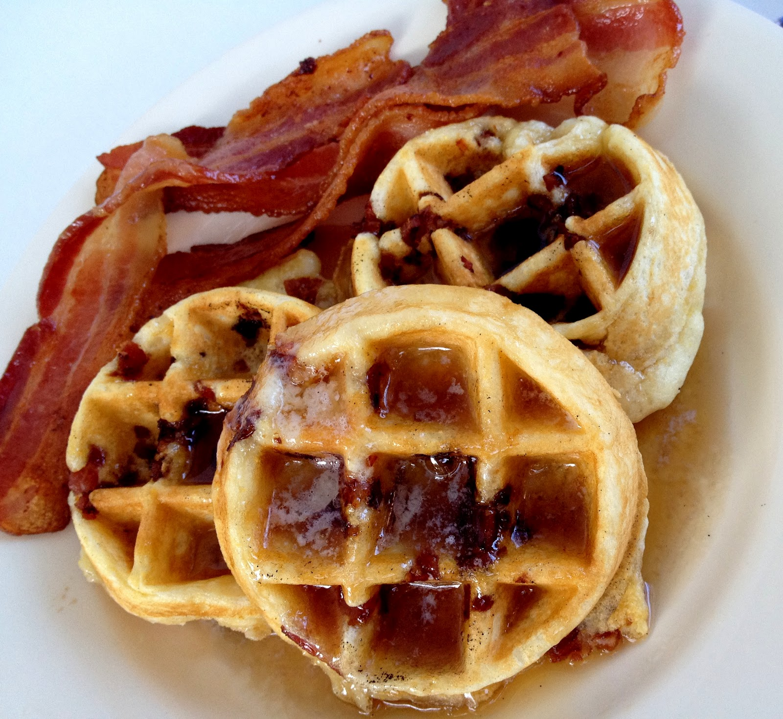 Jennuine by Rook No. 17*: Brown Sugar Bacon Belgian Waffles