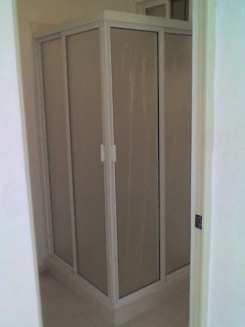 Imagenes De Puertas Para Baño De Aluminio:Puertas, ventanas de aluminio: CANCEL PARA BAÑO EN ESCUADRA