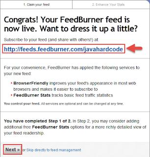 Cara daftar feedburner untuk blog