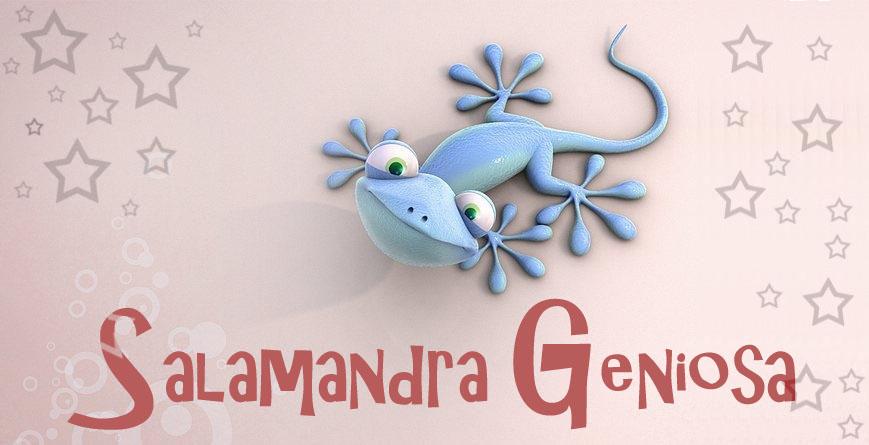 Salamandra Geniosa