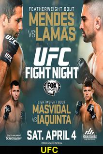Assistir UFC Fight Night: Mendes vs. Lamas