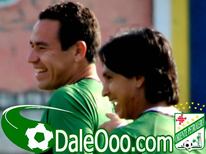 Oriente Petrolero - Marvin Bejarano - Gualberto Mojica - DaleOoo.com web del Club Oriente Petrolero
