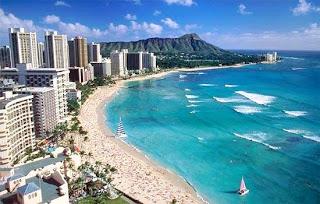 Waikiki Beach Hawaii (Best Honeymoon Destinations In USA) 8