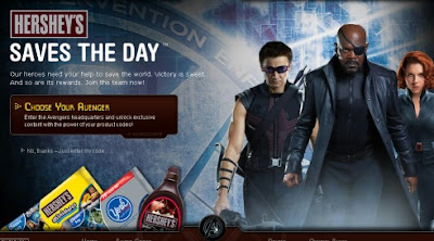 Hershey's Saves The Day with The Avengers