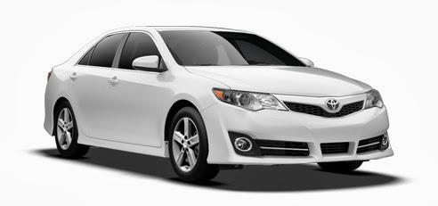 Toyota Camry 2013 white