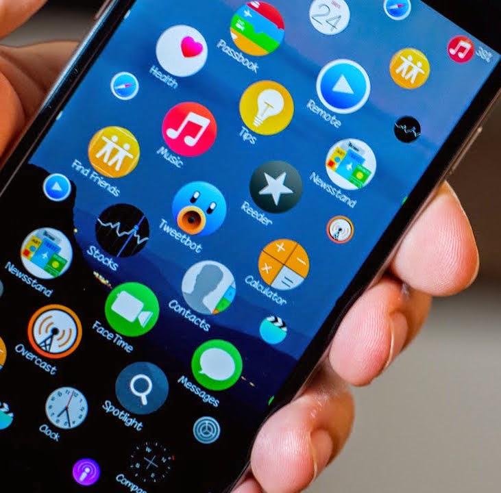 Тема как на айфоне 6
