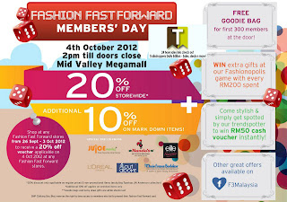 Fashion Fast Forward Member's Day 2012