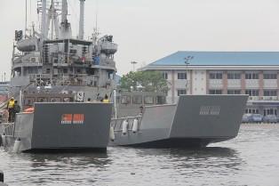 Dua LCU Produksi PT. Tesco Indomaritim