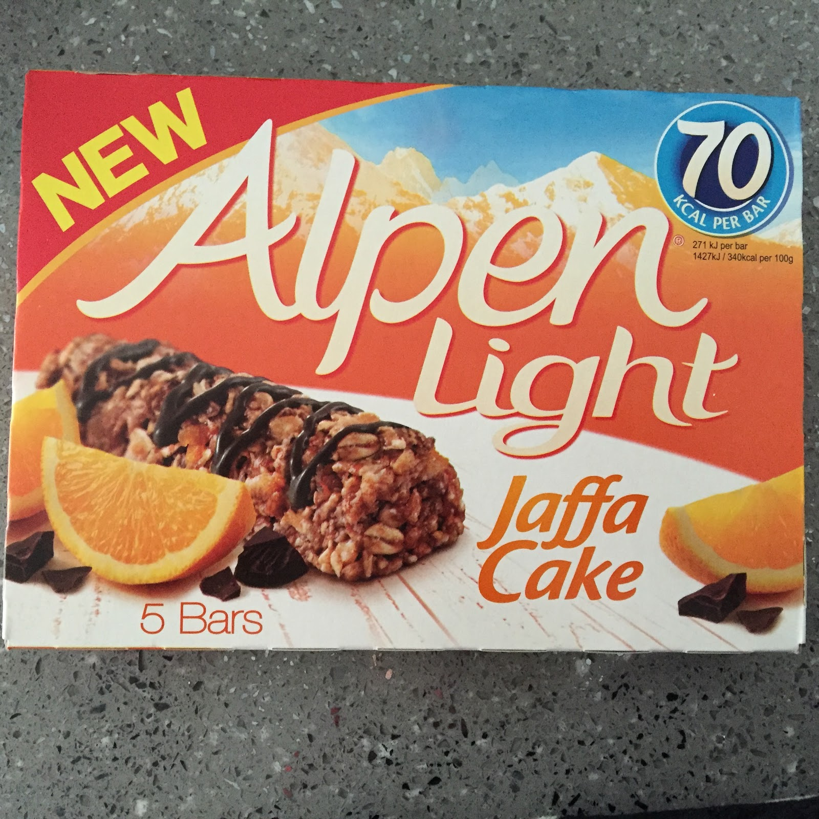 Archived reviews from amy seeks new treats alpen light jaffa cake bars aloadofball Image collections