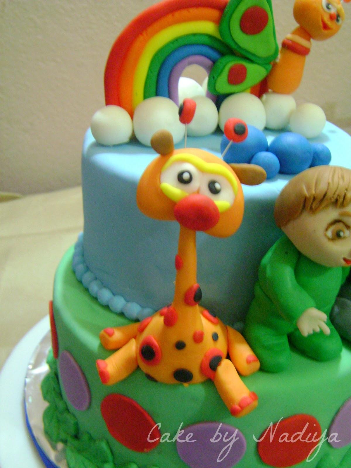 Cake Tv Show Crafts : Nadiya s Tastes Of Maldives: Baby TV cake